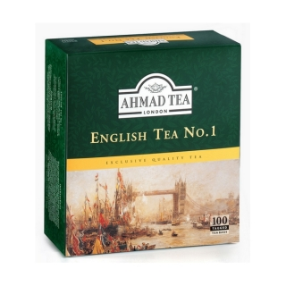Ahmad Tea ENGLISH TEA No.1 100 x 2 g (karton 12 ks)