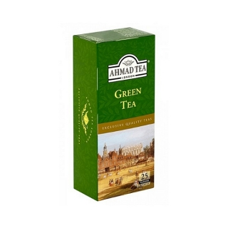 Ahmad Tea GREEN TEA 25 x 2 g (karton 24 ks)