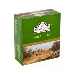 Ahmad Tea GREEN TEA 100 x 2 g (karton 12 ks)