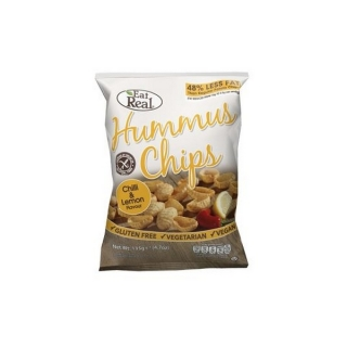 Eat Real HUMMUS CHIPS chilli a citron 45 g
