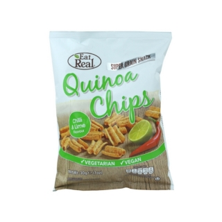 Eat Real QUINOA CHIPS chilli a limetka 30 g