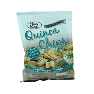 Eat Real QUINOA CHIPS smetana a pažitka 30 g