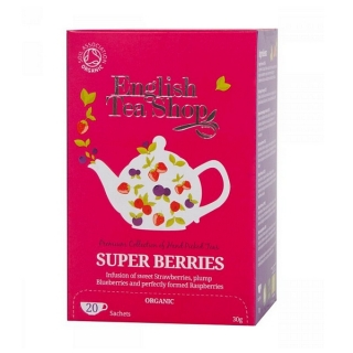 English Tea Shop SUPER BERRIES BIO 20 x 1,5 g