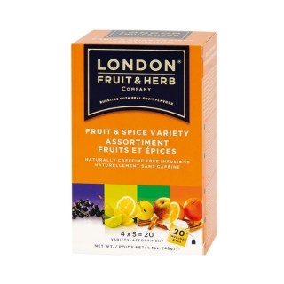 London Fruit & Herb FRUIT & SPICES VARIETY 20 x 2 g