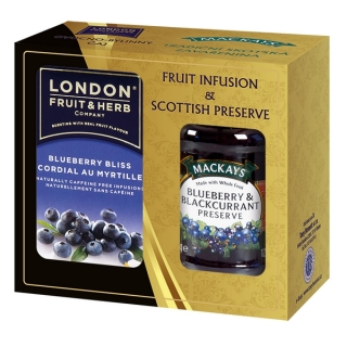 London Fruit & Herb BLUEBERRY Dárková sada 340 g