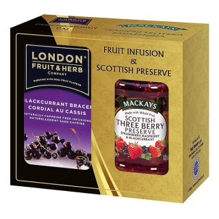 London Fruit & Herb BLACKCURRANT Dárková sada 340 g