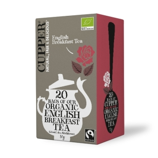 Cupper ENGLISH BREAKFEST BIO 20 x 2,5 g