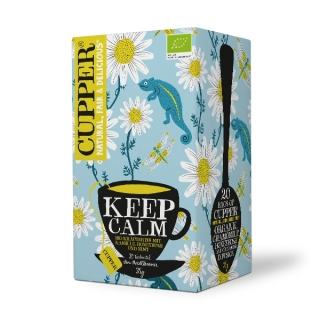 Cupper KEEP CALM BIO 20 x 1,75 g