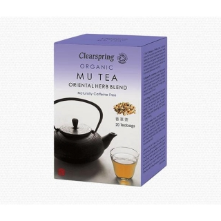 Clearspring MU TEA Oriental Herb Blend BIO 20 x 2 g