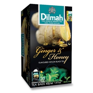 Dilmah GINGER & HONEY 20 x 1,5 g n.s.