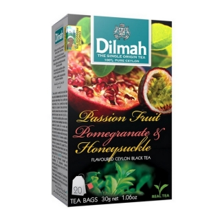Dilmah PASSION FRUIT, POMEGRANATE & HONEYSUCKLE 20 x 1,5 g n.s.