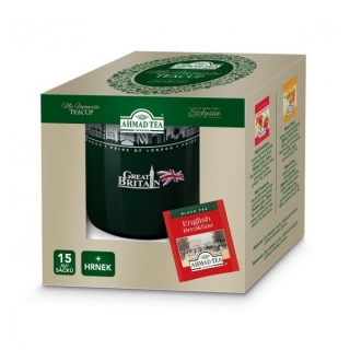 Ahmad Tea MY FAVOURITE TEACUP 15 n.s. + hrnek 350 ml