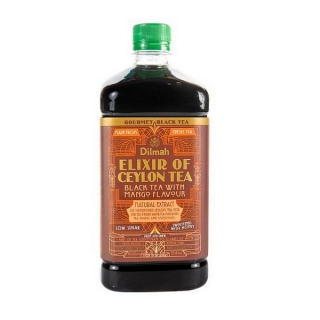 Dilmah ELIXIR of Ceylon Tea Black Tea with Mango 1000 ml