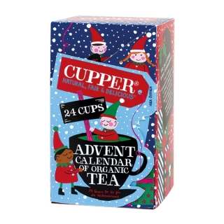 Cupper ADVENT CALENDAR of organic tea BIO 24 x 2g