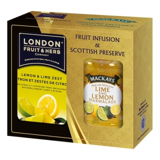 London Fruit & Herb LIME & LEMON Dárková sada 340 g