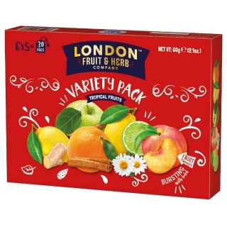 London Fruit & Herb TROPICAL FRUITS Dárková kazeta 30 x 2g