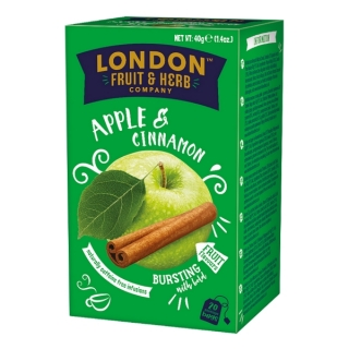 London Fruit & Herb APPLE & CINNAMON 20 x 2 g