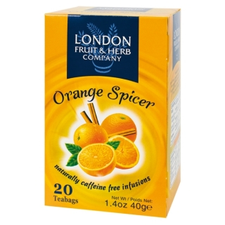 London Fruit & Herb ORANGE SPICER 20 x 2 g