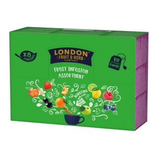 London Fruit & Herb FRUIT DISPLAY UNIT 80 x 2g