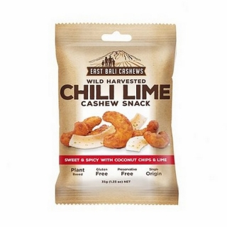East Bali Cashews CHILLI LIME CASHEW SNACK 35 g