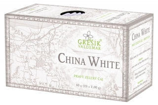 Grešík CHINA WHITE n.s. 20 x 2 g
